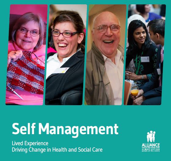 FND Action attend the Alliance's Self Management Network Scotland Event – 27th April 2017