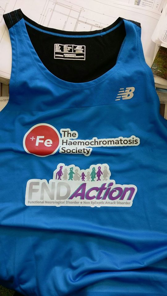 Fundraiser 10th June 2017 ~ Willy and Andy take on the Mourne Way Marathon Challenge in aid of FND Action & The Haemochromatosis Society