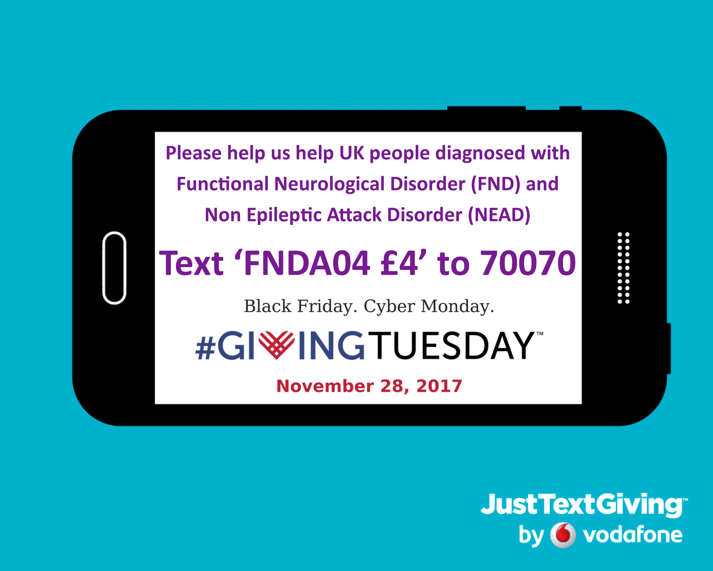FND Action want you to know what it feels like to have a Functional Neurological Disorder – Run up to #GivingTuesday