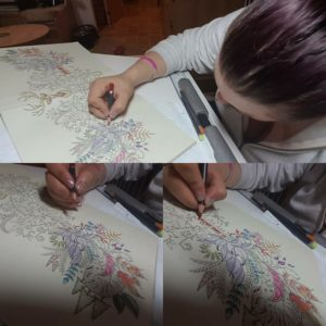 Kym's Blog – Colouring is a not cure but it's my way of living my life and being able to cope with FND